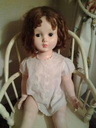 Creepy doll from my grandmother's house.